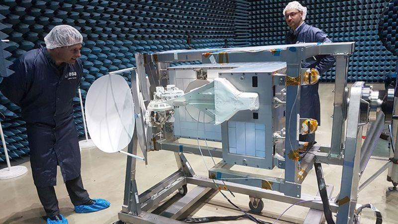 一个英国制造的通讯终端将被安装在国际空间站上。