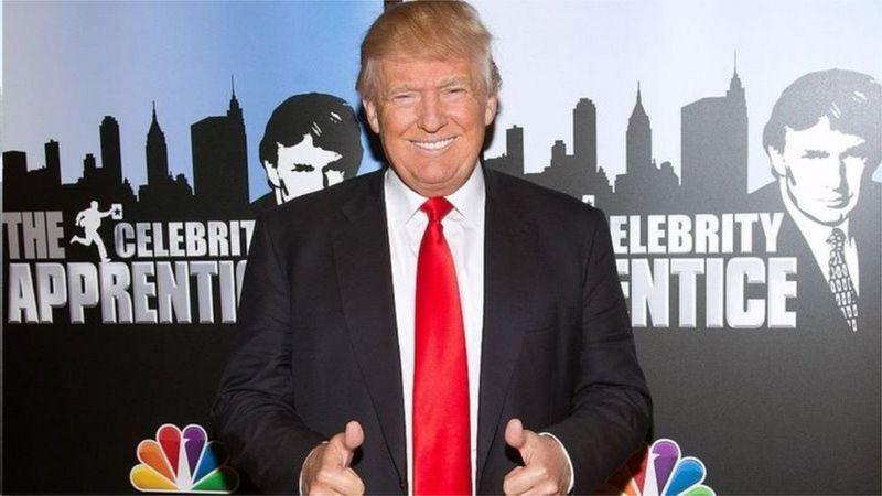 特朗普2015年告别了电视真人秀的节目工作