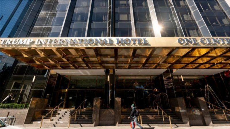 特朗普许多商业资产都和休闲旅游业相关