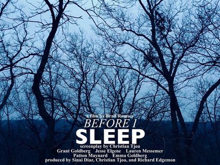 Before I Sleep – Short Film