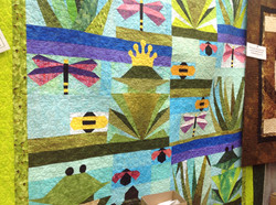 Over By The Pond Queen Size Quilt