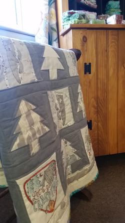Talia Organic Crib Quilt