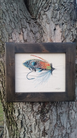 Fishing Lure Thread Painting 2