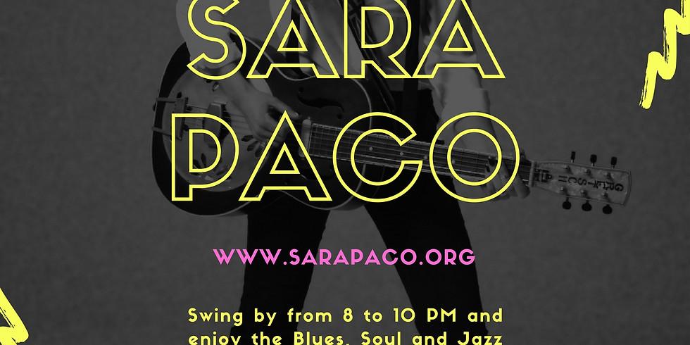 Sara Paco live at the Glad