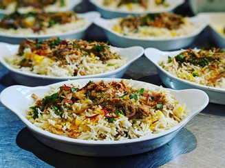 Chicken biriyani