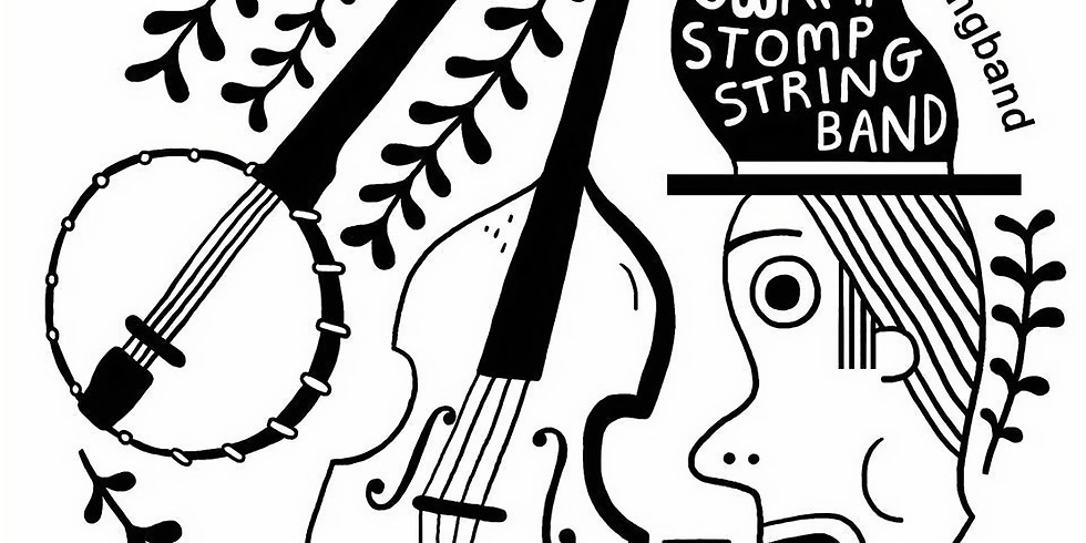 The Swamp Stomp String band live at The Glad