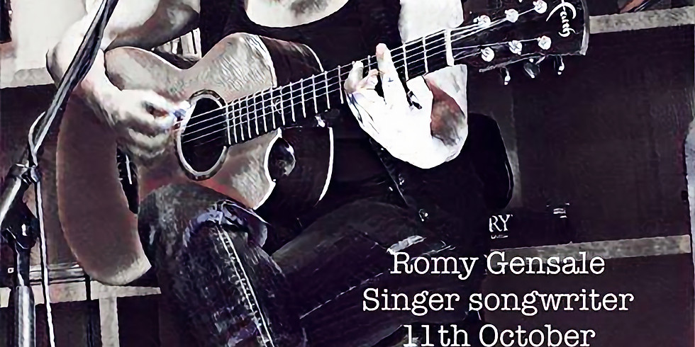 Romy Gensale live at The Glad