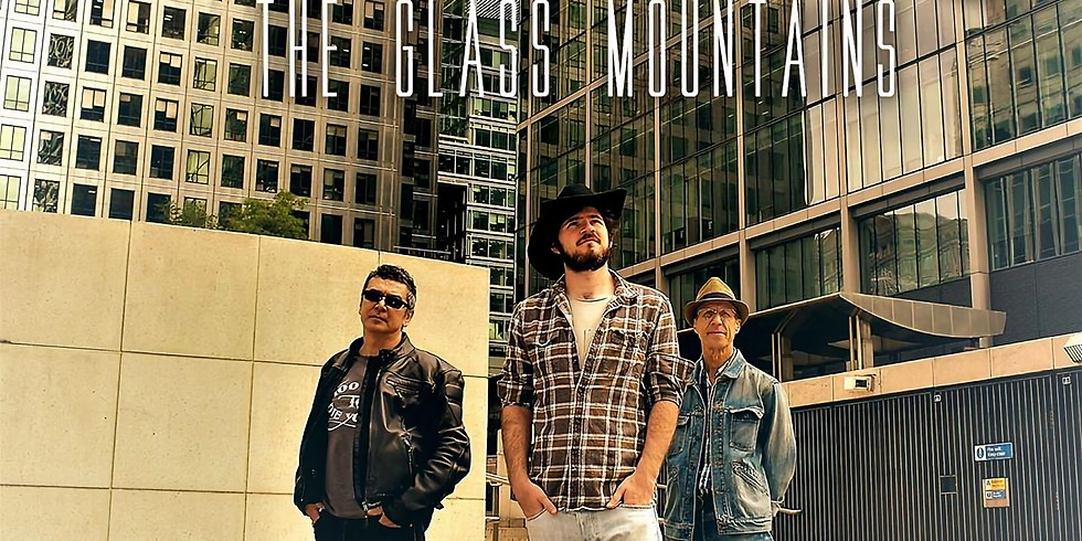 The Glass Mountains (country evening) live at The Glad