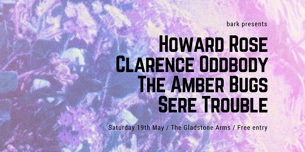 Howard Rose / Clarence Oddbody / The Amber Bugs / Sere Trouble