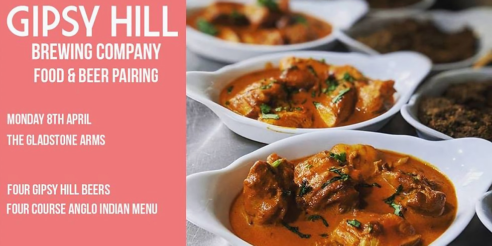 Gipsy Hill Brewing Beer and Food Pairing