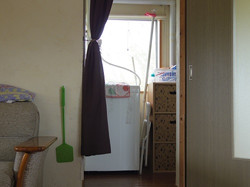 洗濯機、洗面台、お風呂あります。ご自由に。
