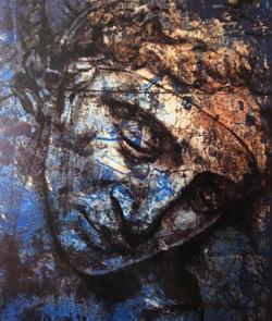 Glass Art David's Head