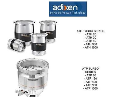 Alcatel Adixen ATH20 ATH30 ATH40 ATH300 ATH1000 ATP80 ATP150 ATP400 ATP900 ATP1500