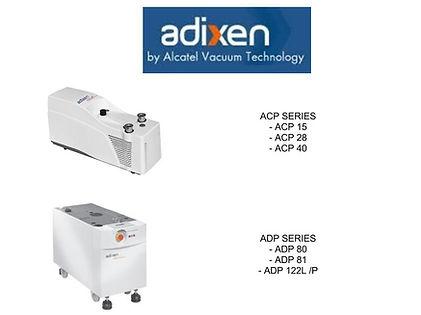 Alcatel Adixen ACP15 ACP28 ACP40 ADP80 ADP81 ADP122 ADP122L ACP122P