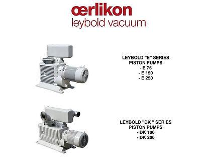 Oerlikon Leybold E 75 150 250 DK 100 200