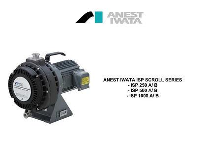 Anest Iwata ISP250 ISP500 ISP1000