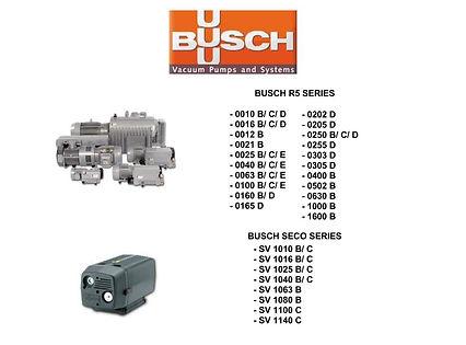 Busch R5 RA0010 RA0016RC SECO
