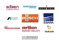 vacuum pump Adixen, Air Tech, Alcatel,Anest Iwata, Busch, Ebara, Edwards, Oerlikon Leybold, Varian, CTI Cryogenics