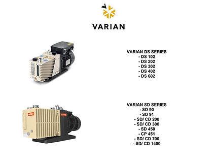 Varian DS 102 202 302 402 SD 90 91 200 300 450 451 700 1400