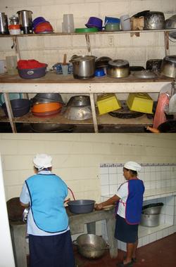 Hospital Kitchen Prep Area