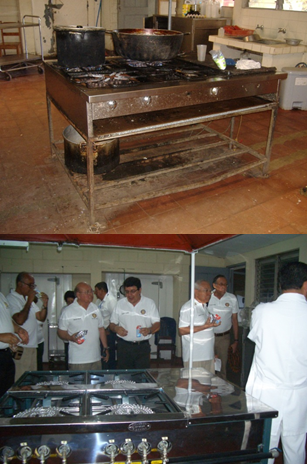Hospital Kitchen Stove