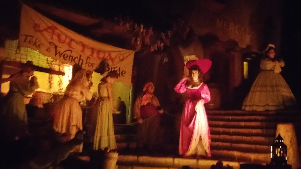 Pirates of the Caribbean Auction Scene (Photo by Heather Anne)