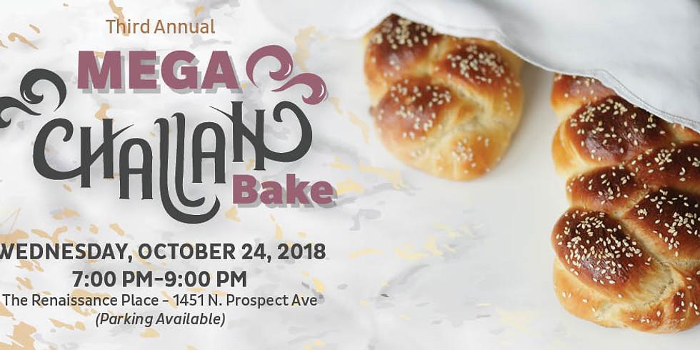 3rd Annual Mega Challah Bake