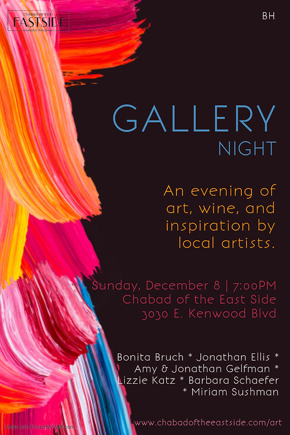 Art Gallery Night - Made with PosterMyWa