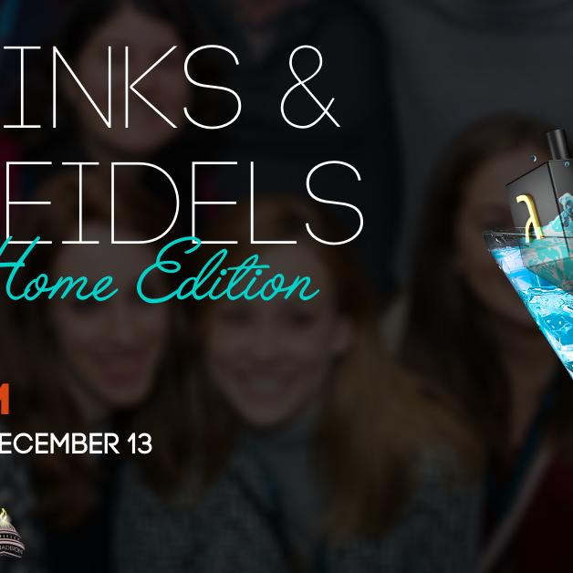 Drinks & Dreidels | Home Edition