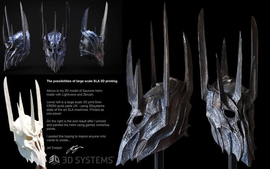 Sauron Helmet