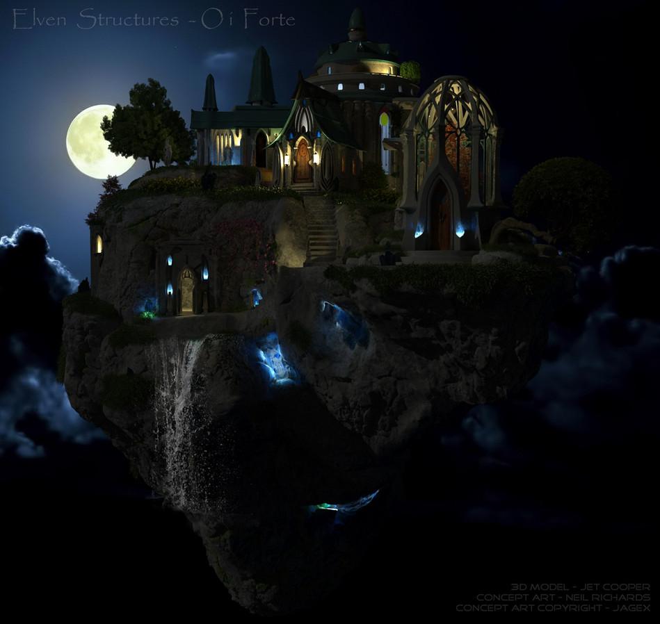 Elven Structures Night