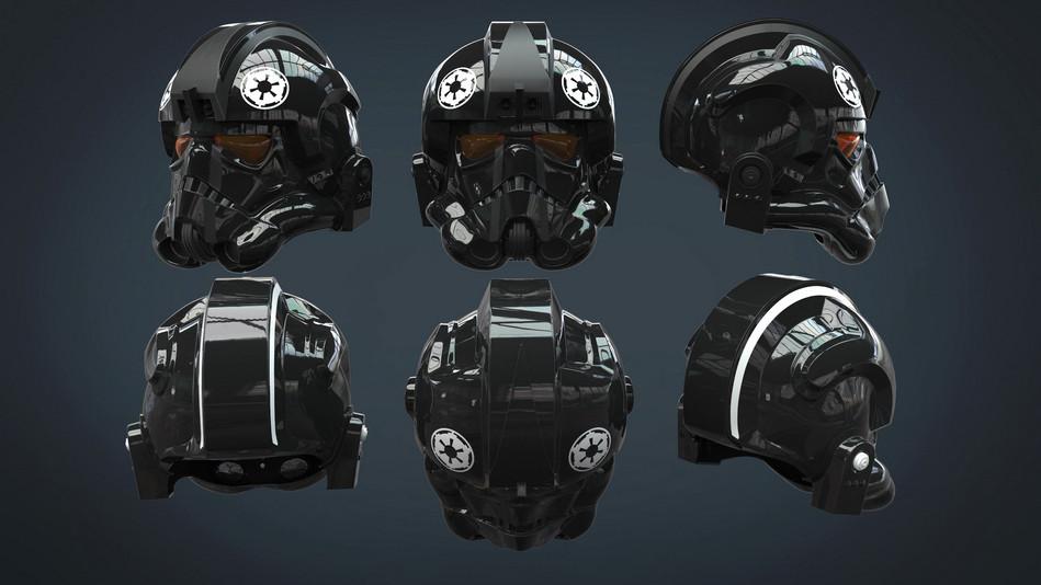 Classic Tiefighter Helmet