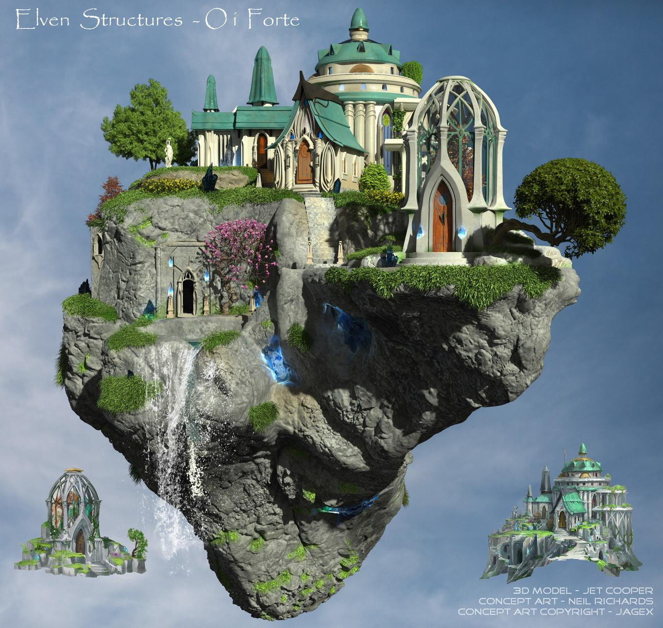 Elven Structures North