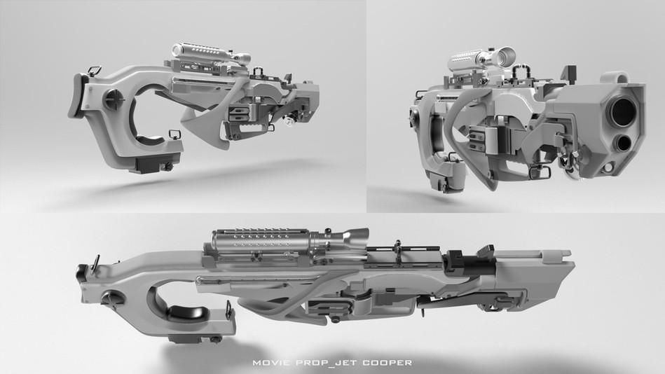 Rocket Gun Concept