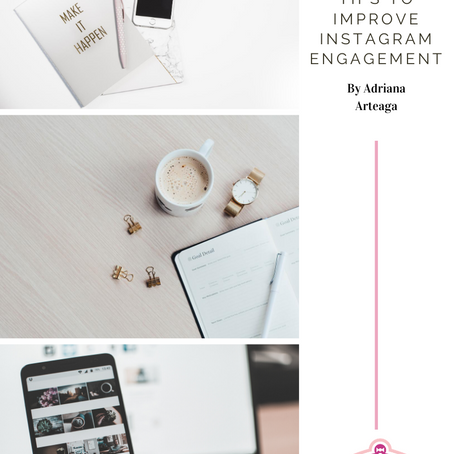 TIPS TO IMPROVE INSTAGRAM ENGAGEMENT