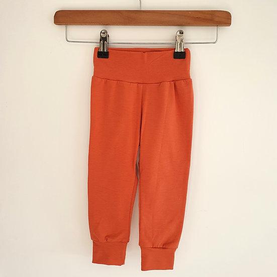 Plain Fabric Leggings