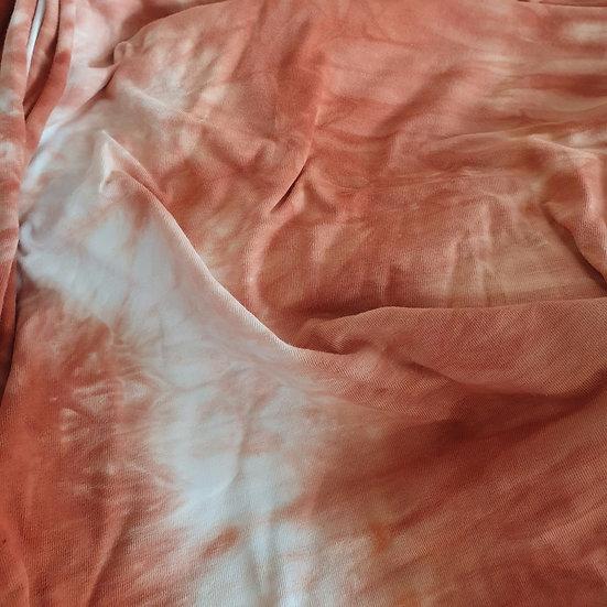 Terracotta Tie-Dye Romper