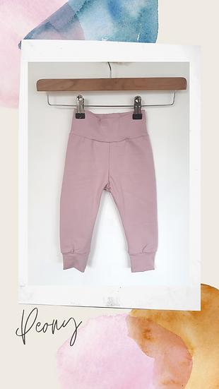 Leggings in Peony Pink
