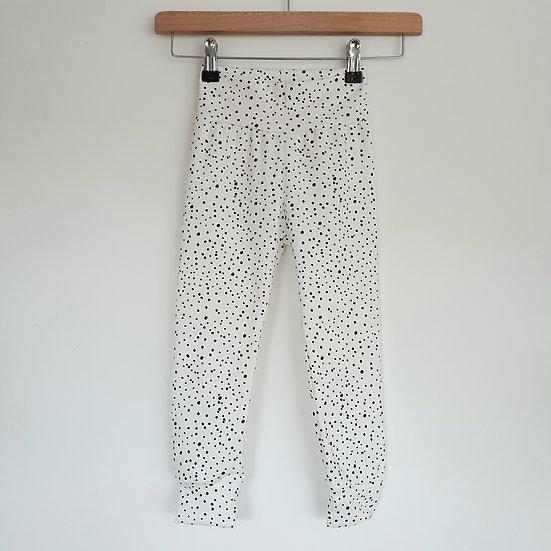 Monochrome Dot Leggings
