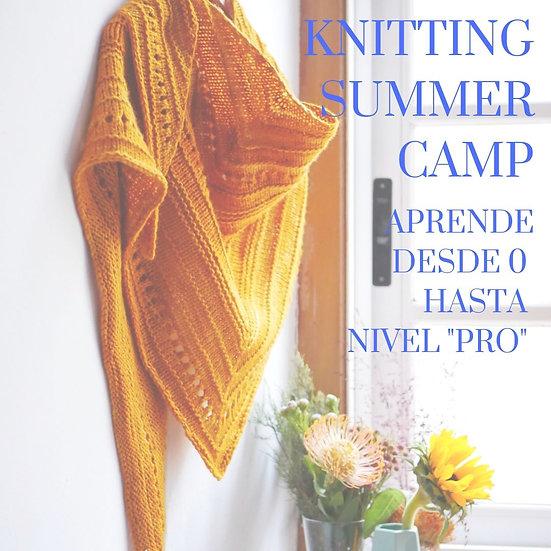 Knittng Summer Camp-Desde 0 a Pro
