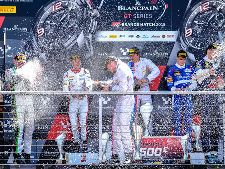 MAIDEN SILVER CUP VICTORY FOR CAYGILL AND TAYLOR-SMITH DURING BRITISH ROUND OF BLANCPAIN SPRINT CUP