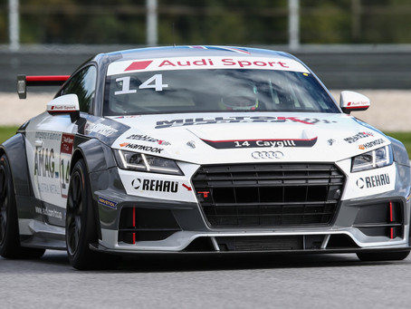 OUTSTANDING RACECRAFT FROM AUDI TT CUP RETURNEE CAYGILL DELIVERS TERRIFIC TOP FIVE AT RED BULL RING