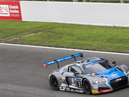 MAIDEN BLANCPAIN ENDURANCE SEASON CONCLUDES FOR CAYGILL WITH HARD-FOUGHT TOP 12 PRO-AM FINISH IN BAR