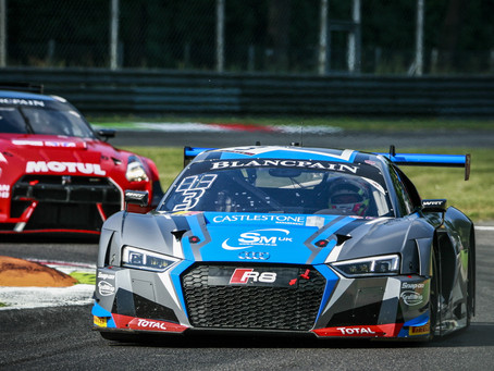 SIX HOUR 'INTO THE NIGHT' CHALLENGE NEXT FOR BLANCPAIN ENDURANCE CUP RACER CAYGILL AT PAUL R