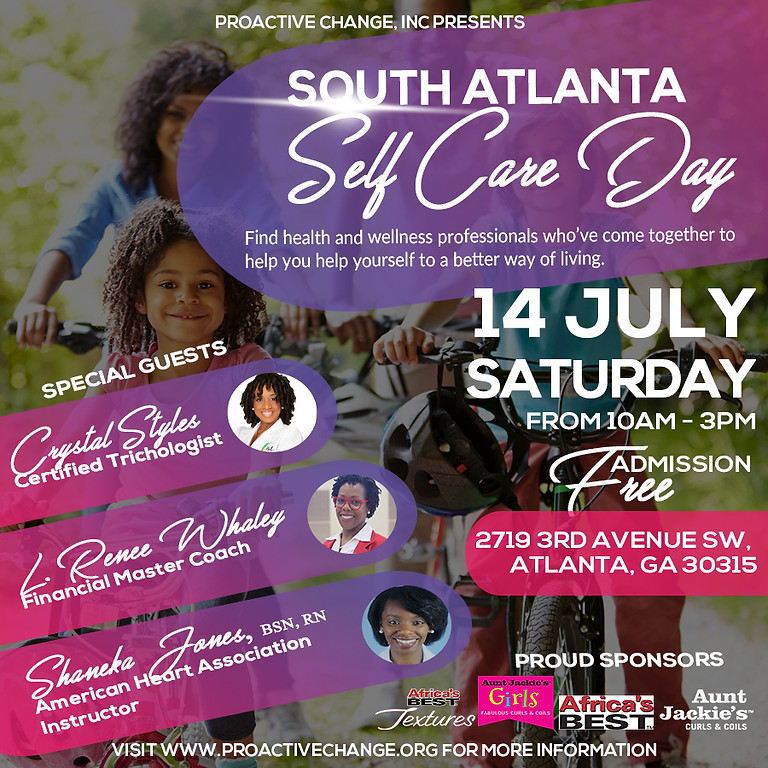 South Atlanta Self Care Day