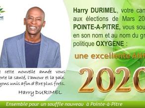 Je vous souhaite une excellente année 2020