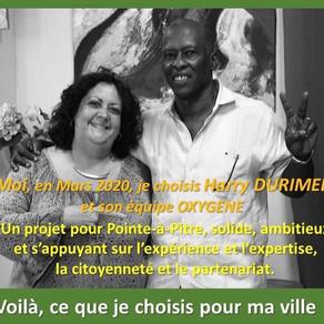Soutien de Sylvie Adélaide, membre active de l'association PLI BEL LARI
