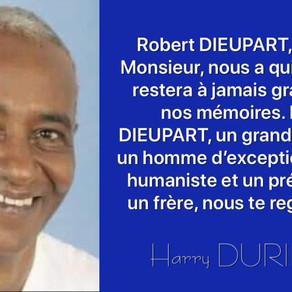 Robert DIEUPART / Adieu l'ami !