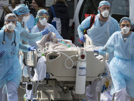 Casos de coronavírus e número de mortes no Brasil em 30 de abril