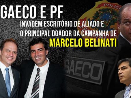 GAECO e PF invadem escritório de aliado e o principal doador da campanha de Marcelo Belinati